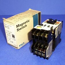 FUJI 100VOLTS 1.5KW 5-8AMP MAGNETIC SWITCH SW-03 *NEW*