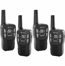 NEW! (4) Cobra CX112 16 Mile 22 Channel FRS/GMRS Walkie Talkie Two-Way Radios