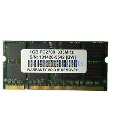 New 1gb  pc2700 DDR-333mhz 200pin pc2700 DDR1 laptop memory Ram Low Density