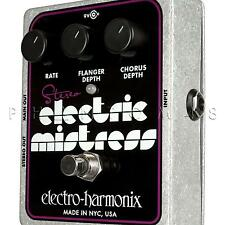 Electro-Harmonix Stereo Electric Mistress Chorus Flanger Guitar Effects Pedal