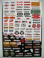 100x Motocross Enduro Motorcycle Skate Board Bmx Decals Sticker Graphics Kit