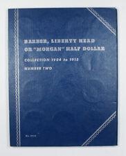 Empty  Whitman publishing Company Barber, Liberty, Or Morgan Half Dollar No.9020