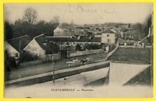 CPA France 77 - CLAYE SOUILLY (Seine et Marne) PANORAMA Attelages Canal L'Ourcq