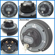 12V Marine Heavy Duty Dual Battery Isolator Switch 300A /Boat /Yacht/Caravan