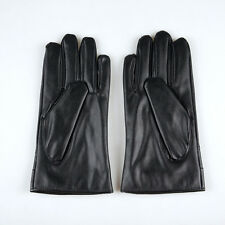 New Men Warm Leather Cashmere Warm Motorcycle Winter Driving Gloves Waterproof