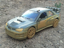 KiNSMART 1:36 Subaru Impreza WRC 2007 RALLY muddy racing version die cast