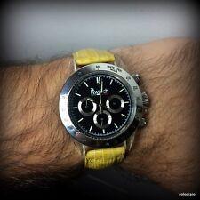 Orologio cronografo itwatch al quarzo cassa acciaio e policarbonato