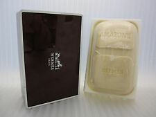 AMAZONE HERMES 3.5 oz / 100 G Bar Soap With Dish Case