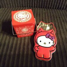 2 Mini Hello Kitty Tins Lucky Stars Candy