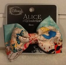 DISNEY ALICE IN WONDERLAND Dual Use Hair Clip / Bow Tie - New Official