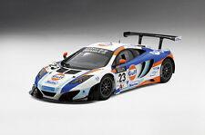 True Scale 1/18 2013 McLaren 12C GT3 #23 2nd Macau Gulf 151836R RESIN