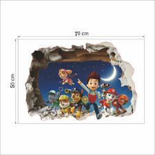 Lovely PAW PATROL SMASHED WINDOWS WALL STICKER. BOYS GIRLS BEDROOM WALL ART