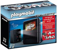 PLAYMOBIL 4879 - Top Agents - Spy Camera with Monitor Set