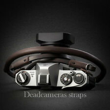 Camera Leather Brown Shoulder/Neck Strap for Leica, Fuji &others - Deadcameras -