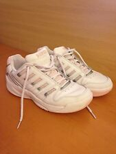 Womens White Composition Leather Laces K-Swiss Low trainers Size UK 5/EU 38