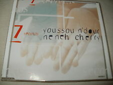 YOUSSOU N'DOUR / NENEH CHERRY - SEVEN SECONDS - UK CD SINGLE