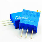 10pcs 3296W-105 3296 W 1M ohm Trim Pot Trimmer Potentiometer