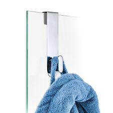 blomus Design Haken für Glasduschwand, Glastür AREO Edelstahl poliert 68915 NEU