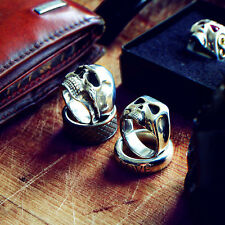 Johnny Depp Sterling Silver Skull Ring