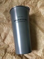 Starbucks Korea Metal Gray To Go Stainless Steel Tumbler Limited Ed Sold Out