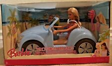 BARBIE TROPICAL BEACH CRUISER CAR GIFTSET W/ DOLL 2007 M6759 *NEW*