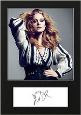 ADELE #2 Signed Photo Print A5 Mounted Photo Print - FREE DELIVERY
