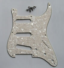 Aged Pearl 8 Hole Vintage ST Strat Pickguard Scratch Plate fits USA Fender