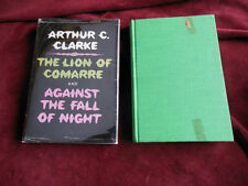 Arthur C. Clarke - THE LION OF COMARRE & AGAINST THE FALL OF NIGHT - 1st (EX