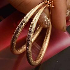 Gold Filled 14K Hoop Earrings Earings Womens Big Large 45mm Free Shipping