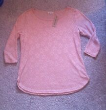 River Island Pretty Flower Light Pink Top Size 6 New With Tags Christmas Gift