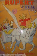 RUPERT THE BEAR 75TH ANNIVERSARY EDITION ANNUAL NICE CONDITION