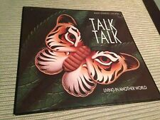 """TALK TALK - LIVING IN ANOTHER WORLD - RE-MIX 12"""" MAXI"""