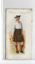 (Jd5457) PLAYERS,HIGHLAND CLANS,MACKINLAY,1907,#4