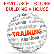 Revit Architecture construir una casa-Video Tutorial DVD de entrenamiento
