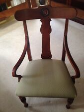 Awesome Ethan Allen British Classics Splat Back Dorsey Arm Chair Exc Byr Pay