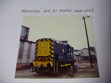 ENG2020 - 1975 Prototype APT at Derby Works - Class 8 Locomotive Railway Photo