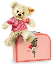 NUOVO Steiff Cosy Teddy Bear PIA VALIGIA Parrot Design IDEALE Steiff Regalo 111341