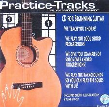 PRACTICE TRACKS - FOR BEGINNING GUITAR  (Brand New CD) Factory Sealed!