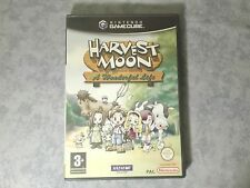 HARVEST MOON A WONDERFUL LIFE - NINTENDO GAMECUBE e WII - PAL ITALIANO COMPLETO