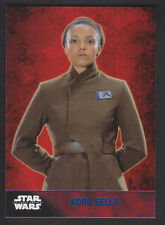 Topps Star Wars - The Force Awakens - Blue Parallel Card # 26 Korr Sella