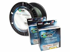 Power Pro Maxcuatro USA Spectra Braid Line 20lb 500yd .19mm GREEN 20-500 MAX