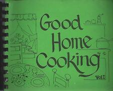 *DALLAS TX VINTAGE *HOLY TRINITY CATHOLIC CHURCH COOK BOOK *GOOD HOME COOKING
