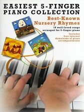 Easiest 5-Finger Piano Collection Nursery Rhymes Beginner Easy Music Book