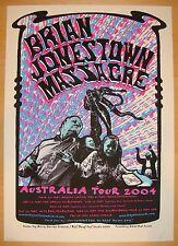 2004 Brian Jonestown Massacre - Silkscreen Concert Poster s/n by Darren Grealish