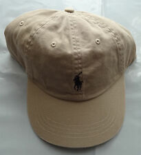 NWT New Polo Ralph Lauren Adjustable Strap Pony Logo Baseball Hat Cap 1 Size