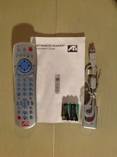 ATI Remote Wonder RF PC multimedia remote control + USB receiver KIT 151-V01037