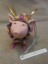 Patience Brewster Krinkles ROSE The Flying Angel Pig Ornament New with Tag