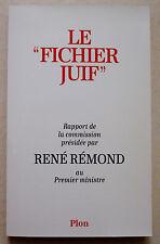 L'antisémitisme français aujourd'hui et demain S EPSTEIN éd Belfond 1984