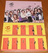 TWICE TWICEcoaster : LANE 2 A + B Version SET 2 CD + PHOTOCARD + FOLDED POSTER