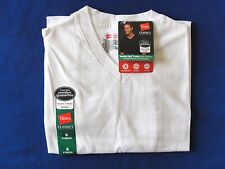Hanes Men's Comfort Cool V-Neck T Shirt with Moisture Wicking -  Size S  NWT